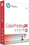 HP Printer Paper, ColorPrinting24, 8.5 x 11 Paper, Letter Size, 24lb Paper, 97 Bright, 400 Sheets / 1 Ream (202040)